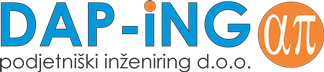 DAP-iNG d.o.o. Hiša koristnih nasvetov Logo